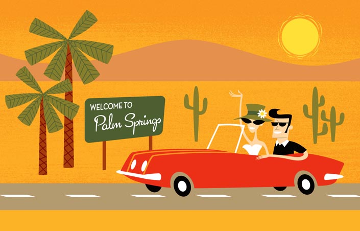 Welcome To Palm Springs By Shag 2011 The Hardyman Files