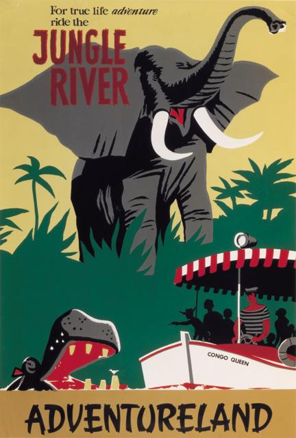 Original Jungle Cruise Poster From Disneyland The Hardyman Files