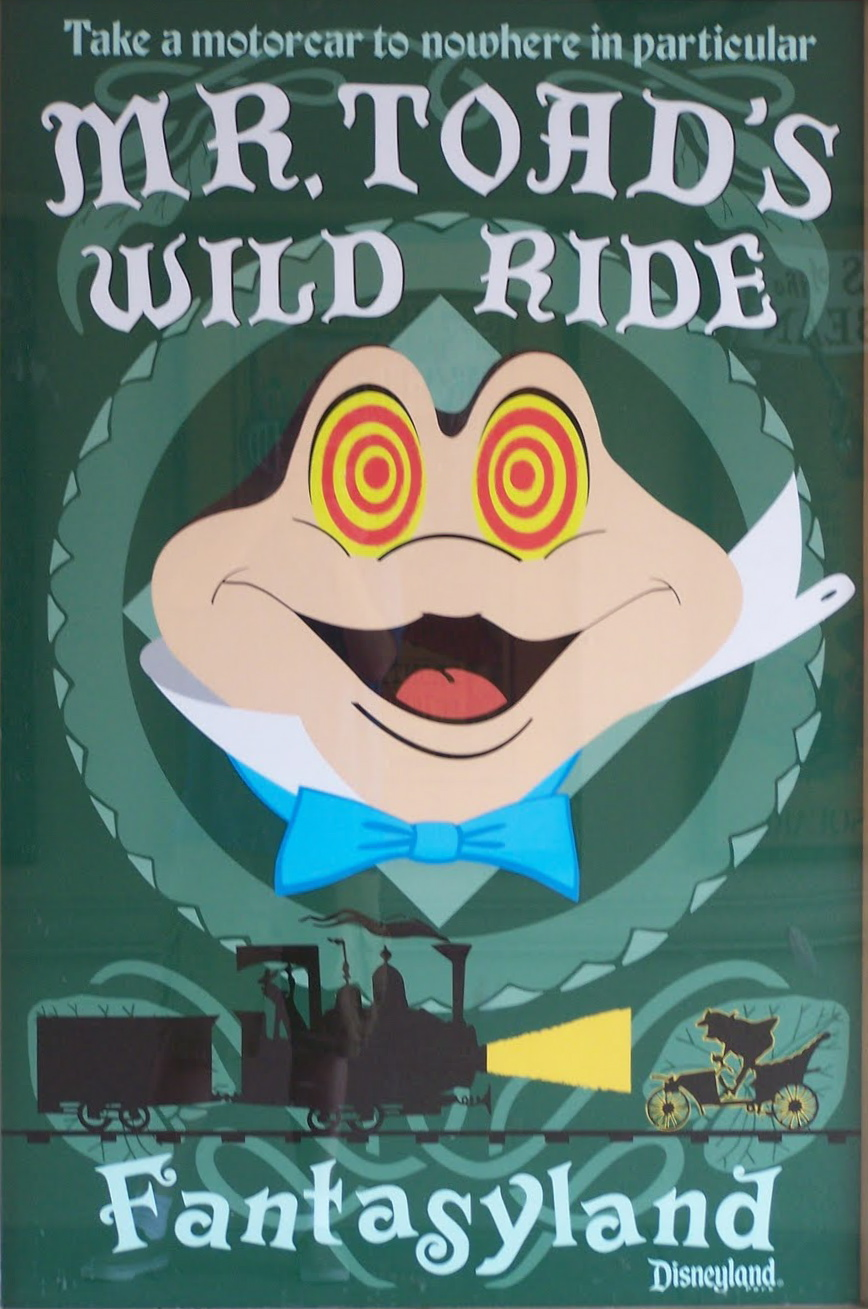 mr toads wild ride