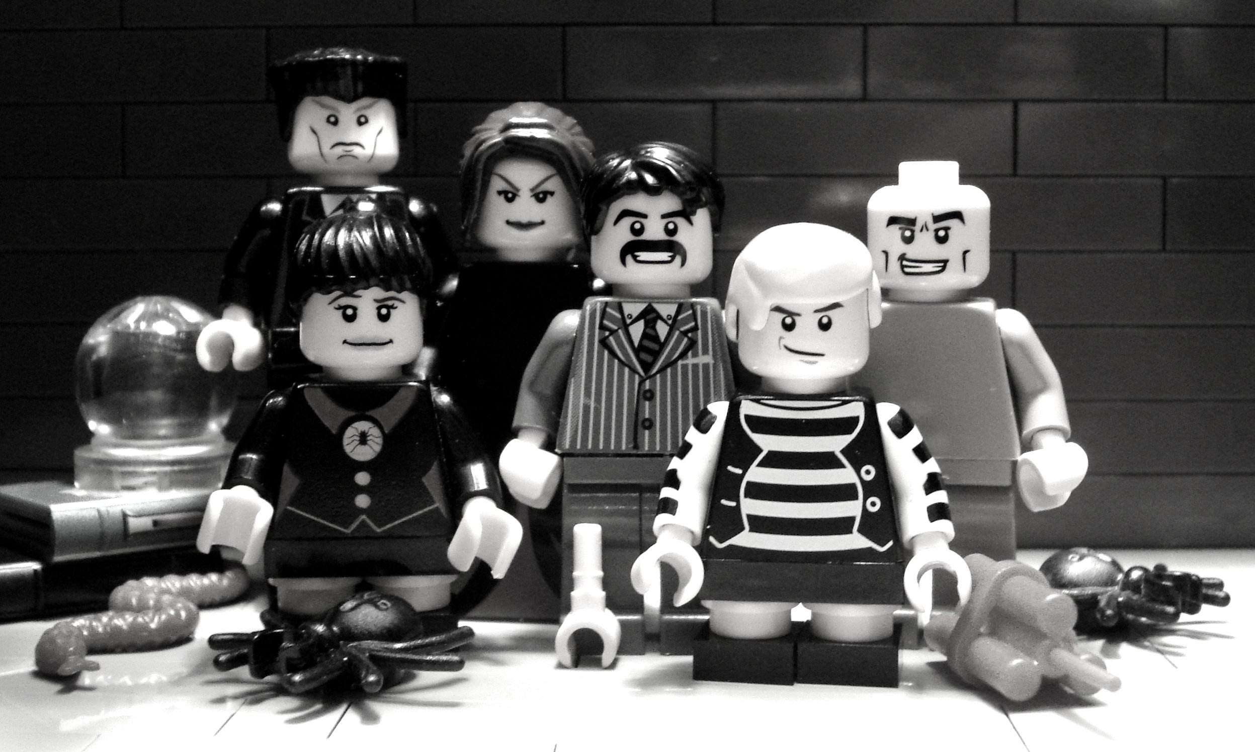 When the addams family meets lego the hardyman files for The addams family living room